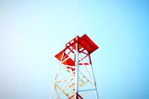 Kostenloses Stock Foto zu azul, blanco, blau, cielo