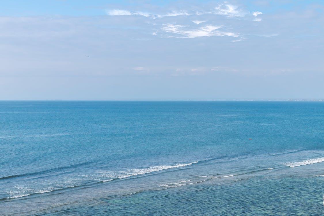 blau, farben, horizont