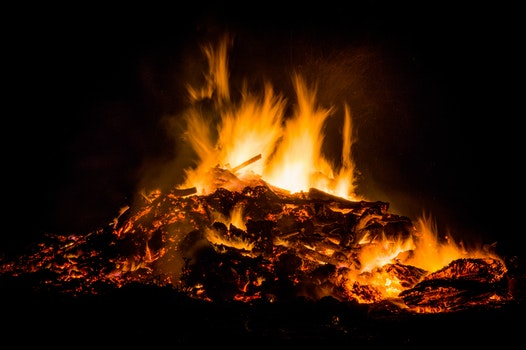 Free stock photo of night, fire, easter, campfire