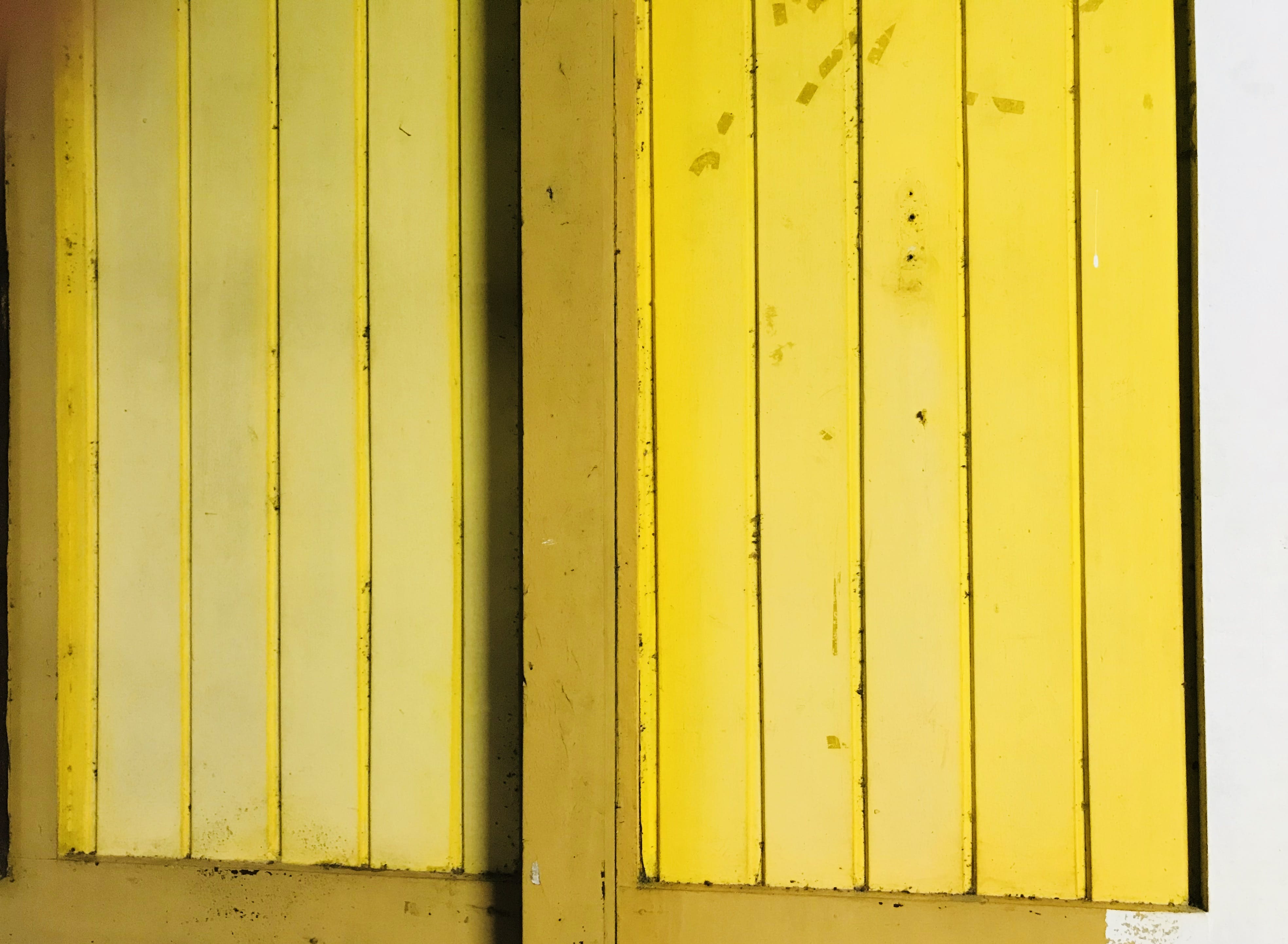 Yellow Wood Planks
