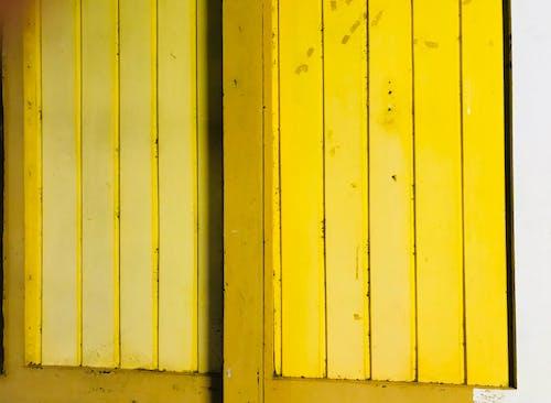 Kostenloses Stock Foto zu design, gelb, holz, hölzern