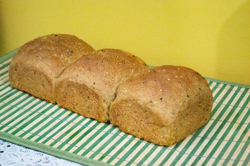 Free stock photo of balanced diet, bread, coffee break