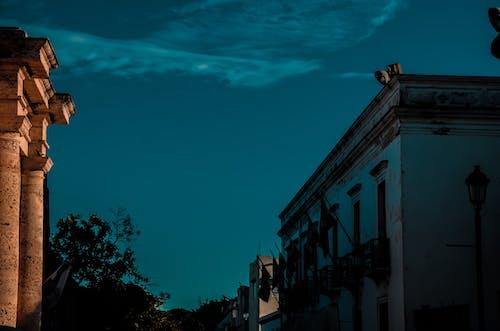 Foto stok gratis bangunan terlantar, biru, Biru tua, daerah