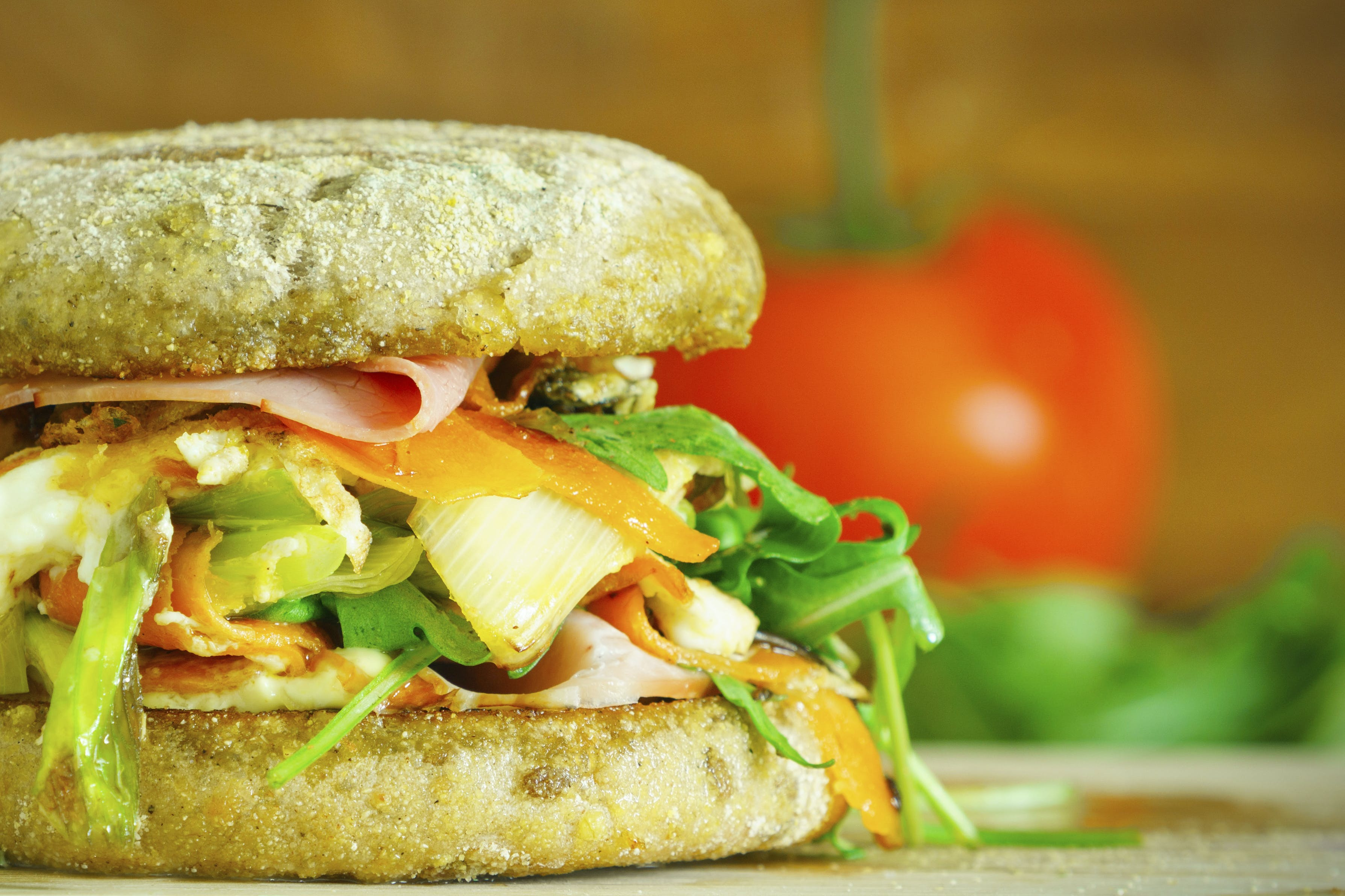 Darmowe zdjęcie z galerii z bułeczki, chleb, jedzenie, kanapka