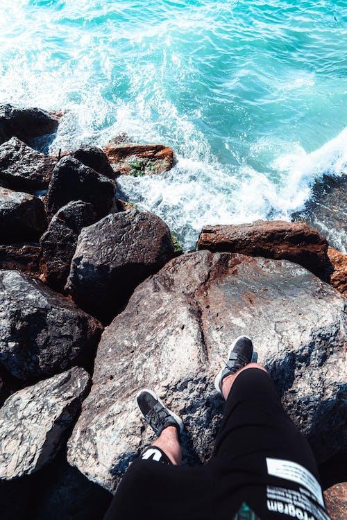 açık hava, dalga, deniz içeren Ücretsiz stok fotoğraf