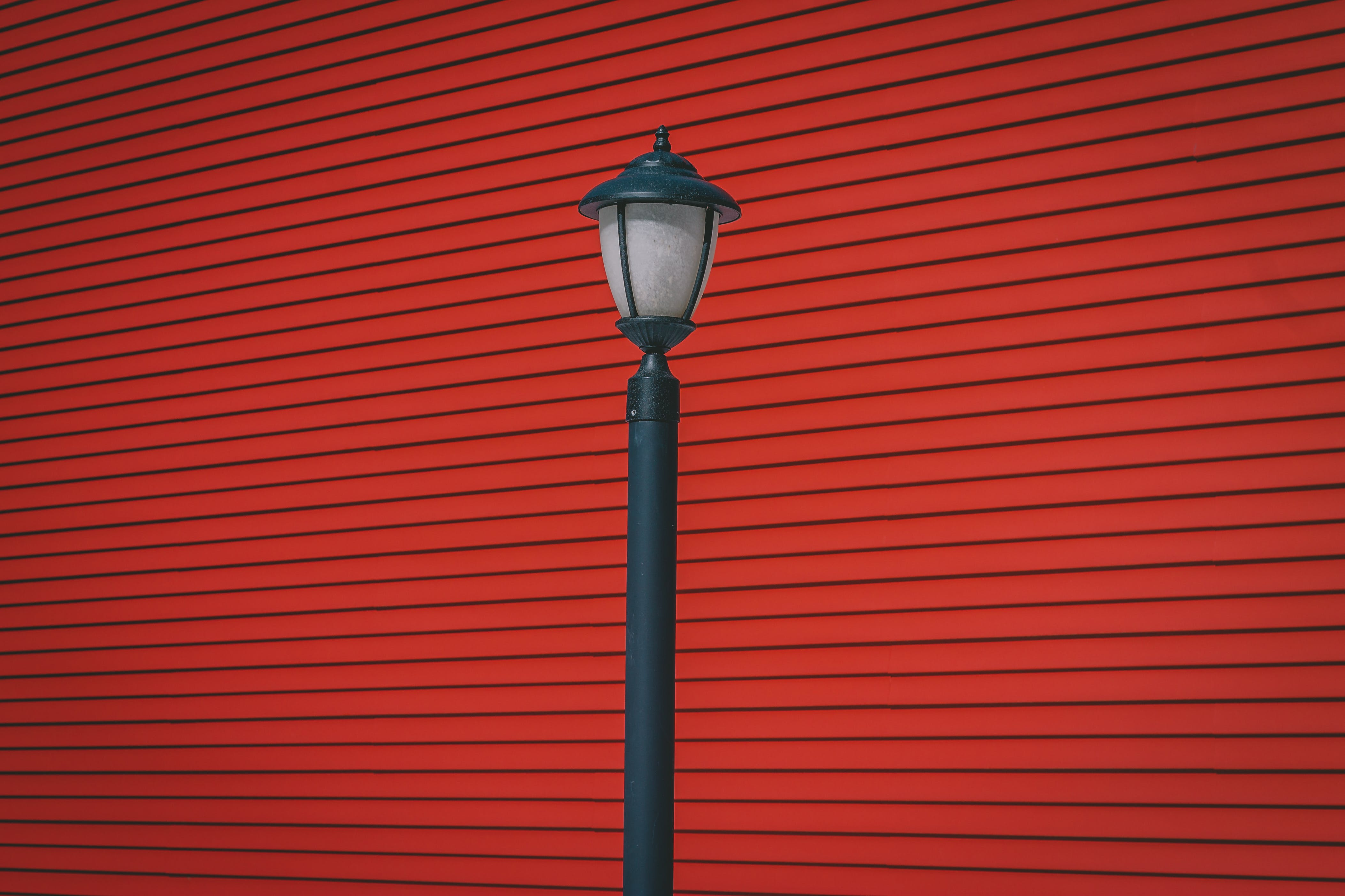 Black Street Lantern