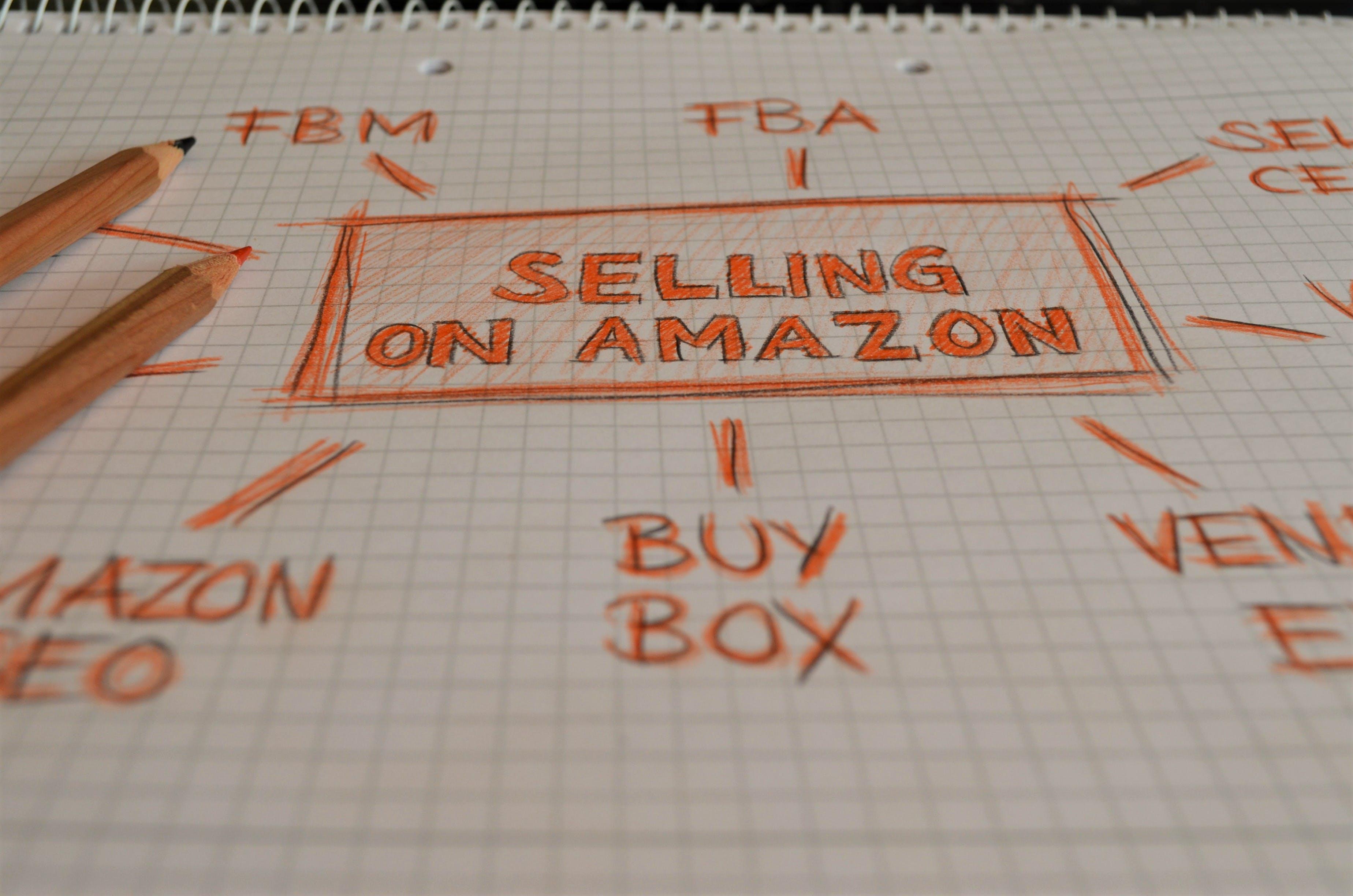 Free stock photo of marketing, orange, pencils, amazon
