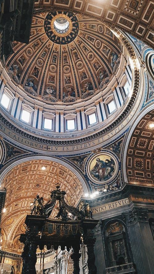 Kostnadsfri bild av altare, arkitektur, byggnad, inne