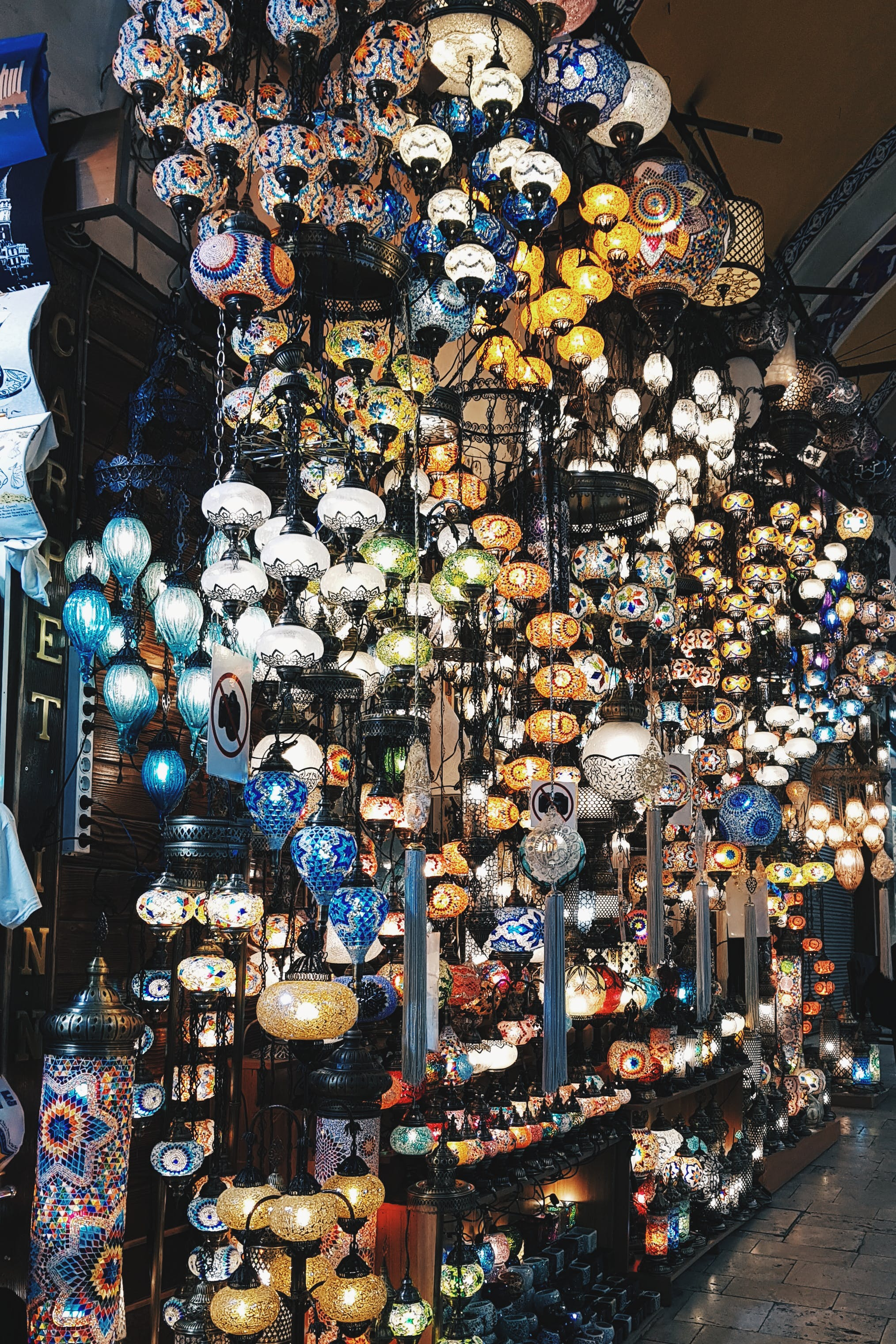 Free stock photo of bazaar, candle holder, Candlelights, Istanbul