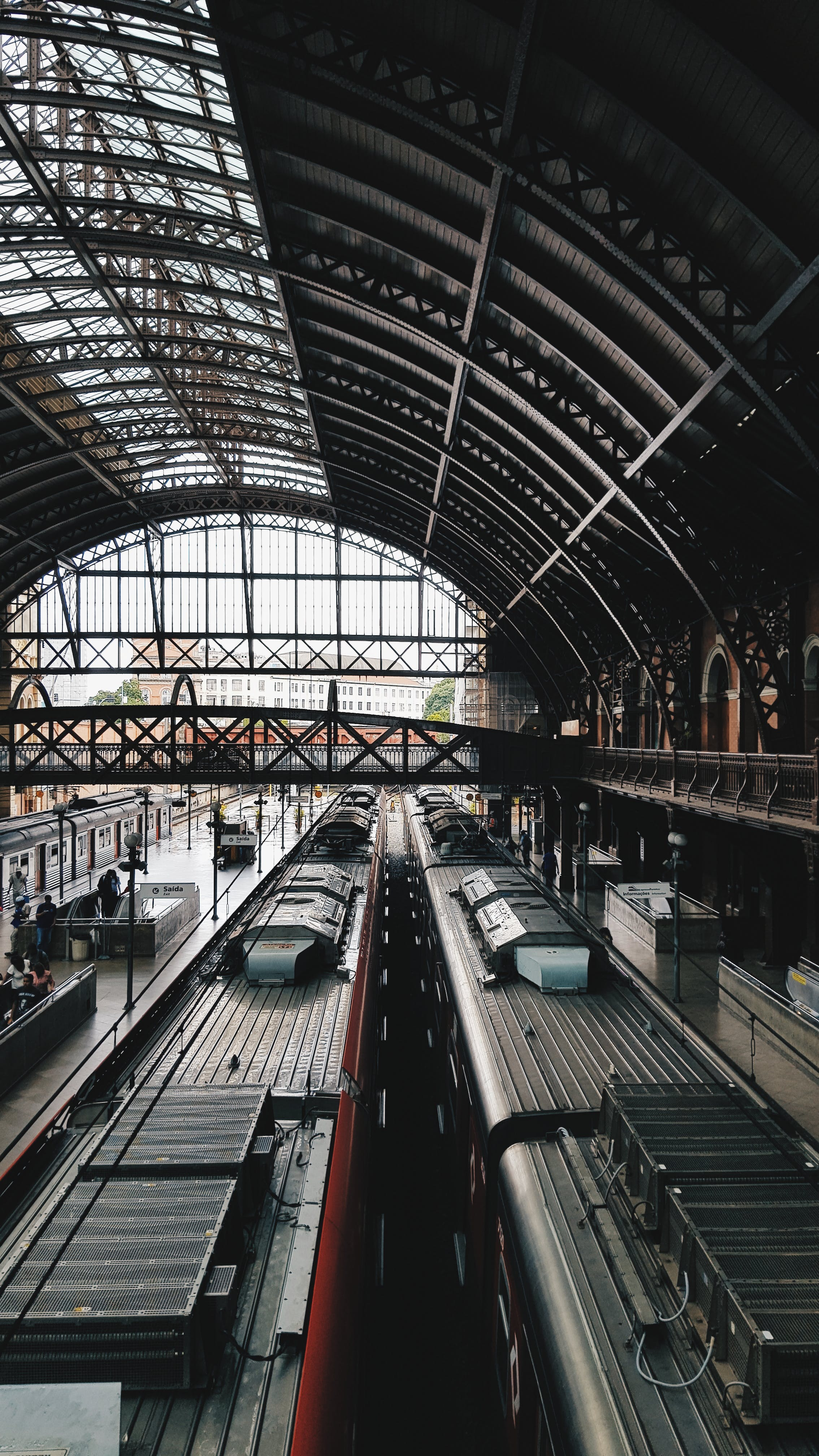 Architectural Photography of Train Station