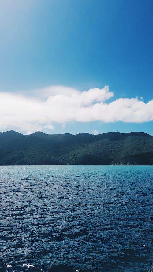 Free stock photo of brazil, coast, mountains, sea