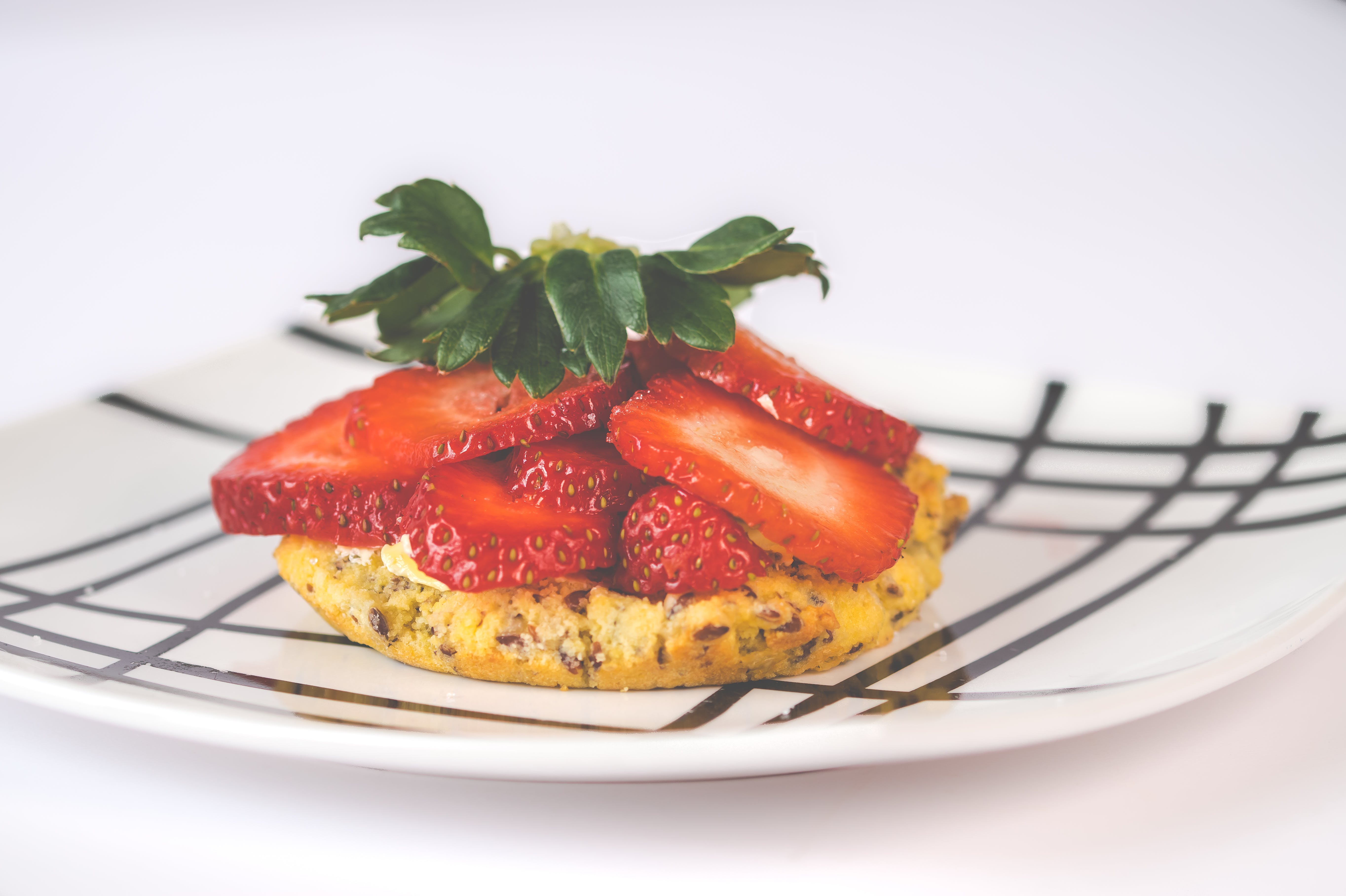 erdbeeren, essen, frisches obst