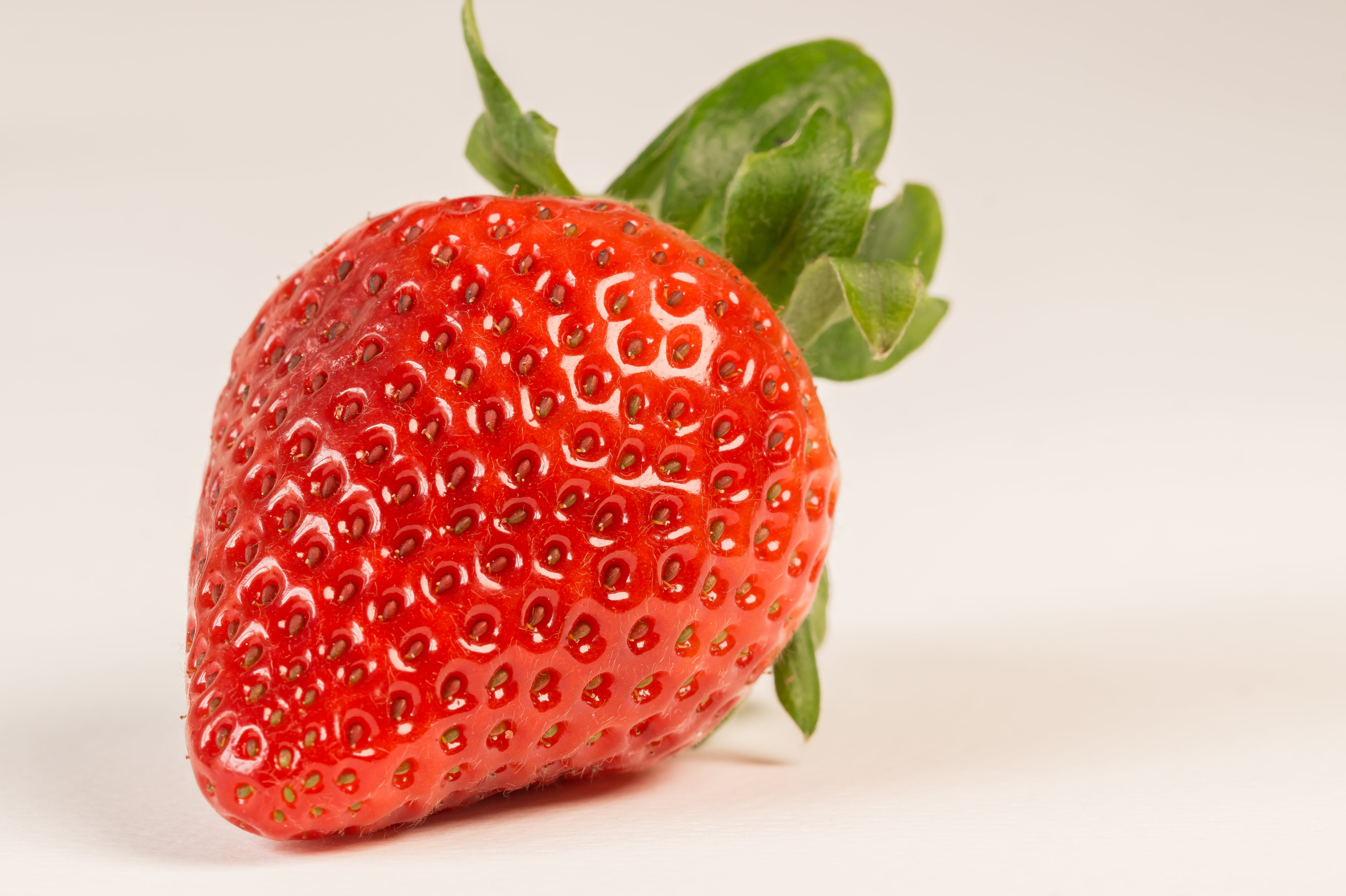 Macro Photography of Strawberry