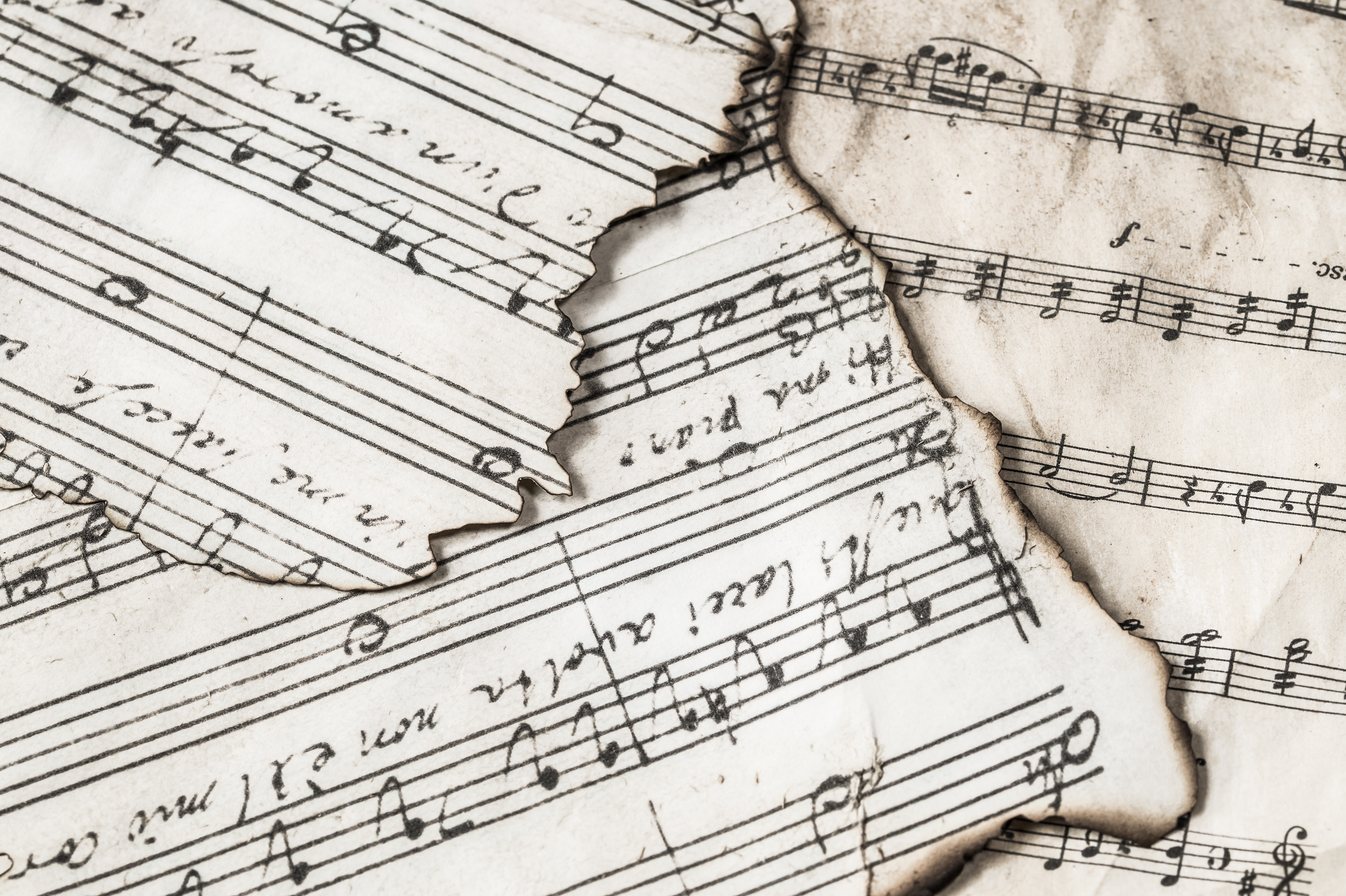 Music Notes Free Stock Photo
