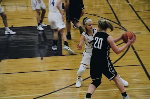 Бесплатное стоковое фото с баскетбол, баскетболист, действие, женщины