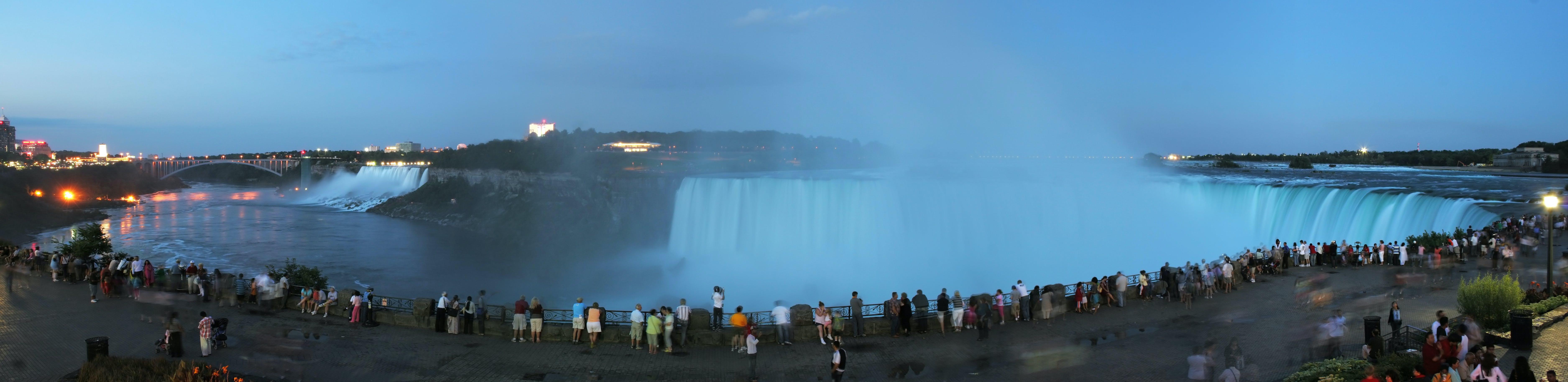 Základová fotografie zdarma na téma dav, komunita, lidé, Niagárské vodopády