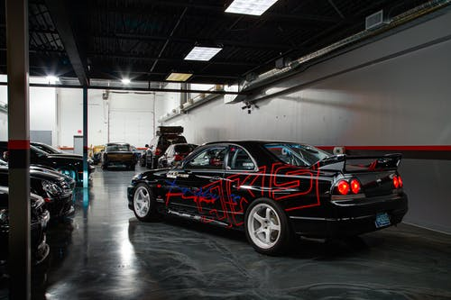 Black and Red Bmw M 3