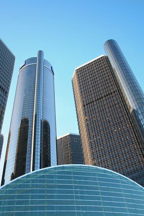 Ảnh lưu trữ miễn phí về các tòa nhà, tẩy lông, tòa nhà chọc trời, trụ sở chính của general motors
