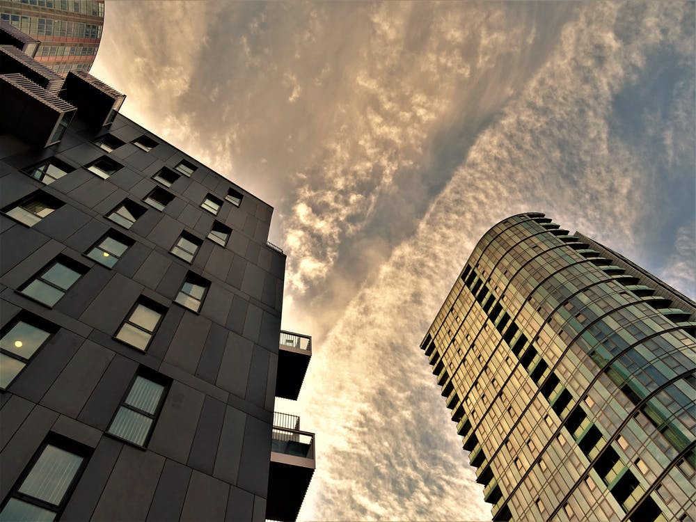 architektonický dizajn, architektúra, centrum mesta