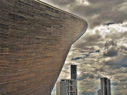Δωρεάν στοκ φωτογραφιών με αρχιτεκτονική, αρχιτεκτονικό σχέδιο, γραμμή ορίζοντα, δομή