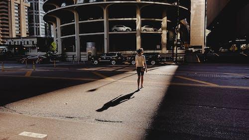 Free stock photo of city, lady, lighting