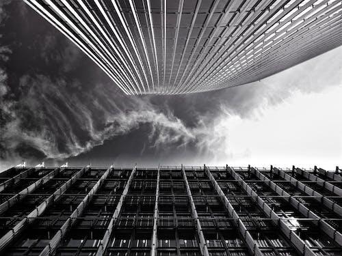 Fotos de stock gratuitas de acero, arquitectura, blanco y negro, ciudad