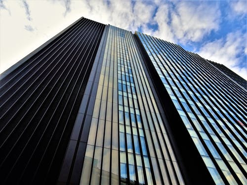 Immagine gratuita di acciaio, architettura, articoli di vetro, cielo