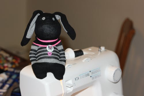 Free stock photo of handmade, mascot, sew, sewing