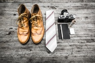 fashion, camera, notebook