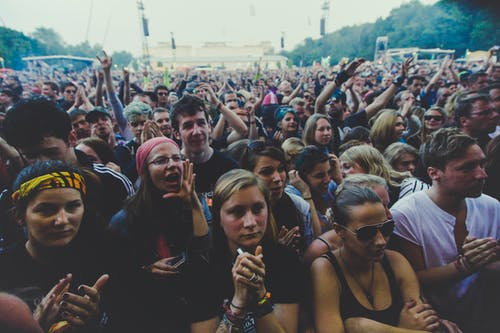 Free stock photo of audience, crowd, fans, group