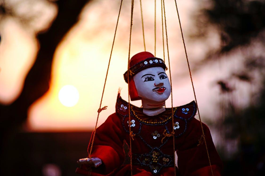 bagan, myanmar, puppet