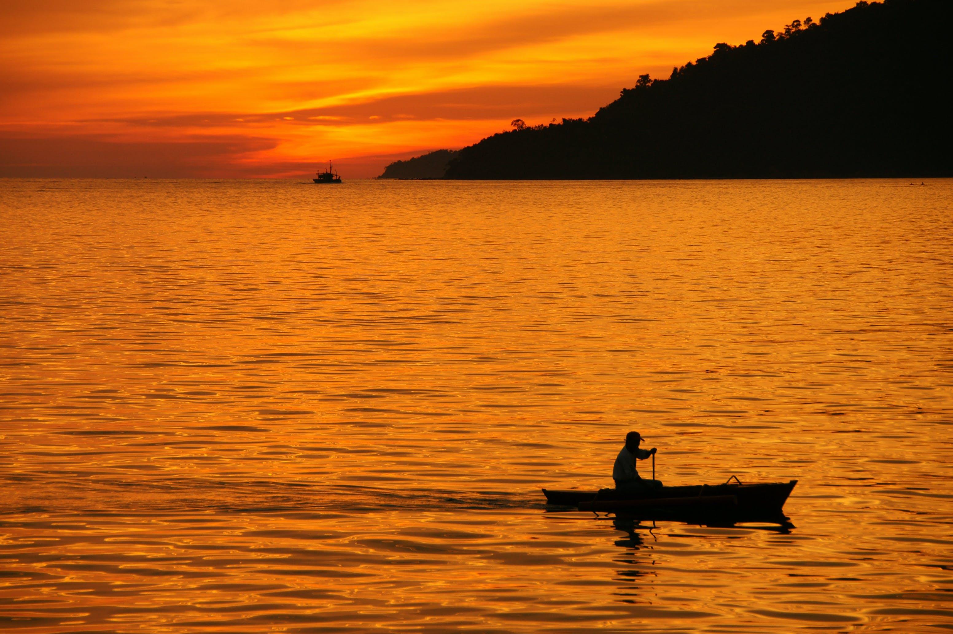 Free stock photo of golden hour, golden sunset, Malaysia, Sabah