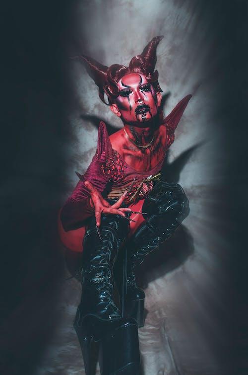 Foto profissional grátis de aparência gótica, arte, assustador