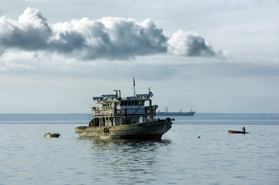 Free stock photo of borneo, clouds, fishermen