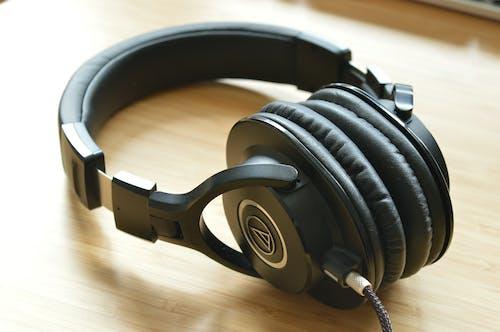 Základová fotografie zdarma na téma ath-m40x, audio-technika, audiophile, sluchátka