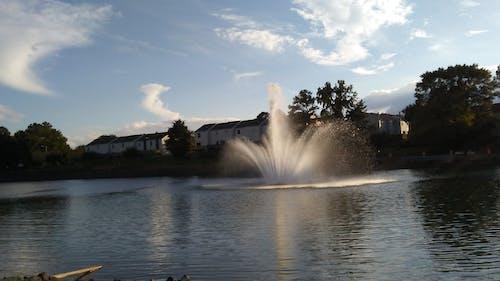Бесплатное стоковое фото с pineville, вода, голубые небеса, парк