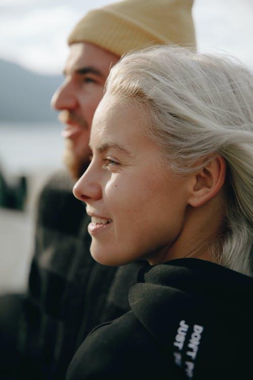Blonde Womans Profile