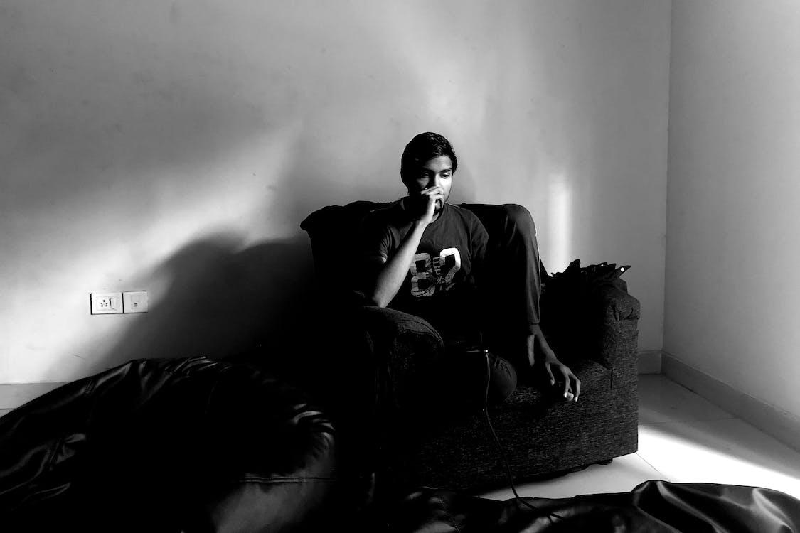 assegut, blanc i negre, cadira