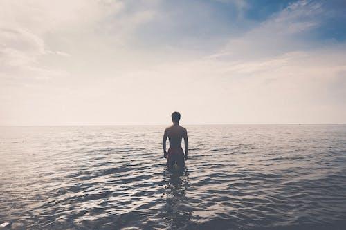 Gratis lagerfoto af afslapning, ensomhed, fritid, hav
