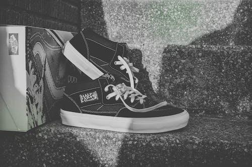 Free stock photo of 90s, black and white, retro