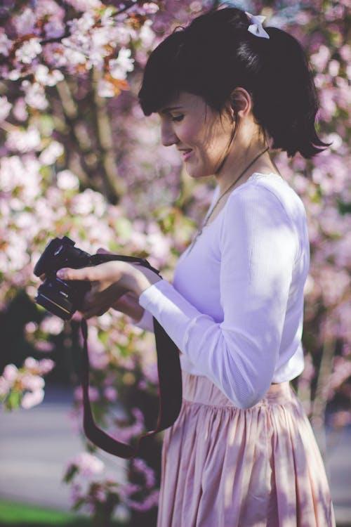 Fotobanka sbezplatnými fotkami na tému bočný pohľad, človek, dievča, dospelý