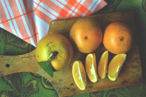 Free stock photo of citrus, citrus fruits, flatlay