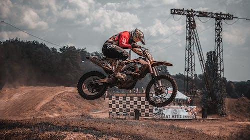 Dirt Bike on Air