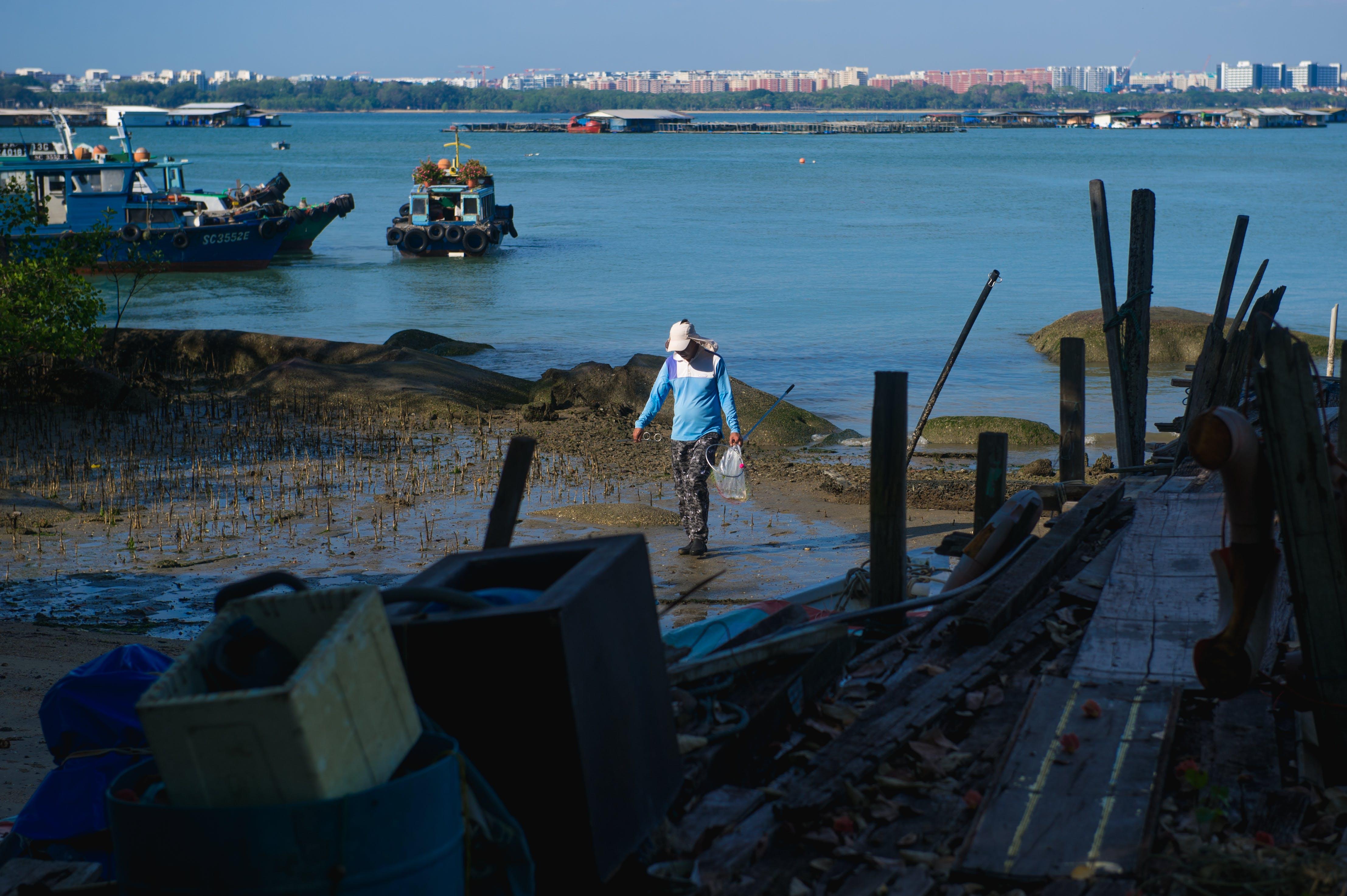Free stock photo of day, fisherman, fishingvillage, pulau