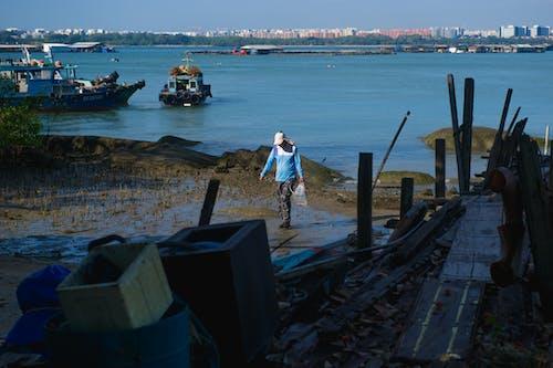 Free stock photo of day, fisherman, fishingvillage