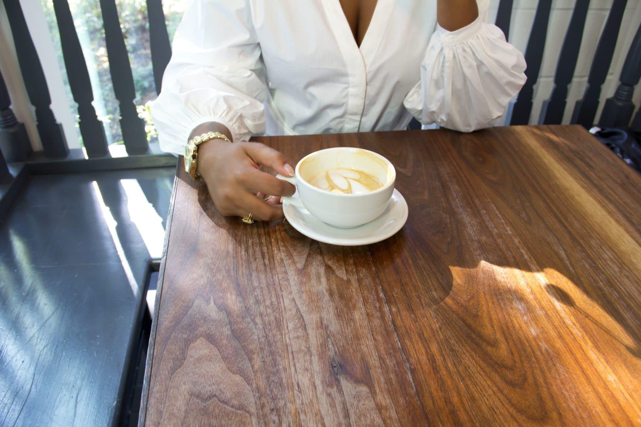 cà phê, cốc, giản dị