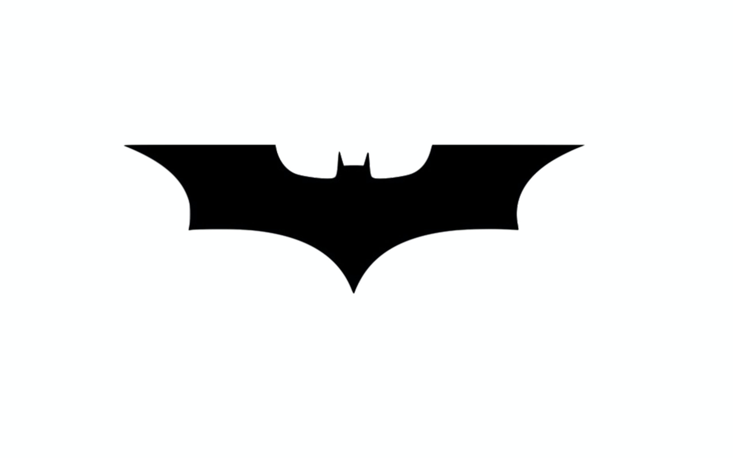 Free Stock Photo Of Batman Black And White Logo