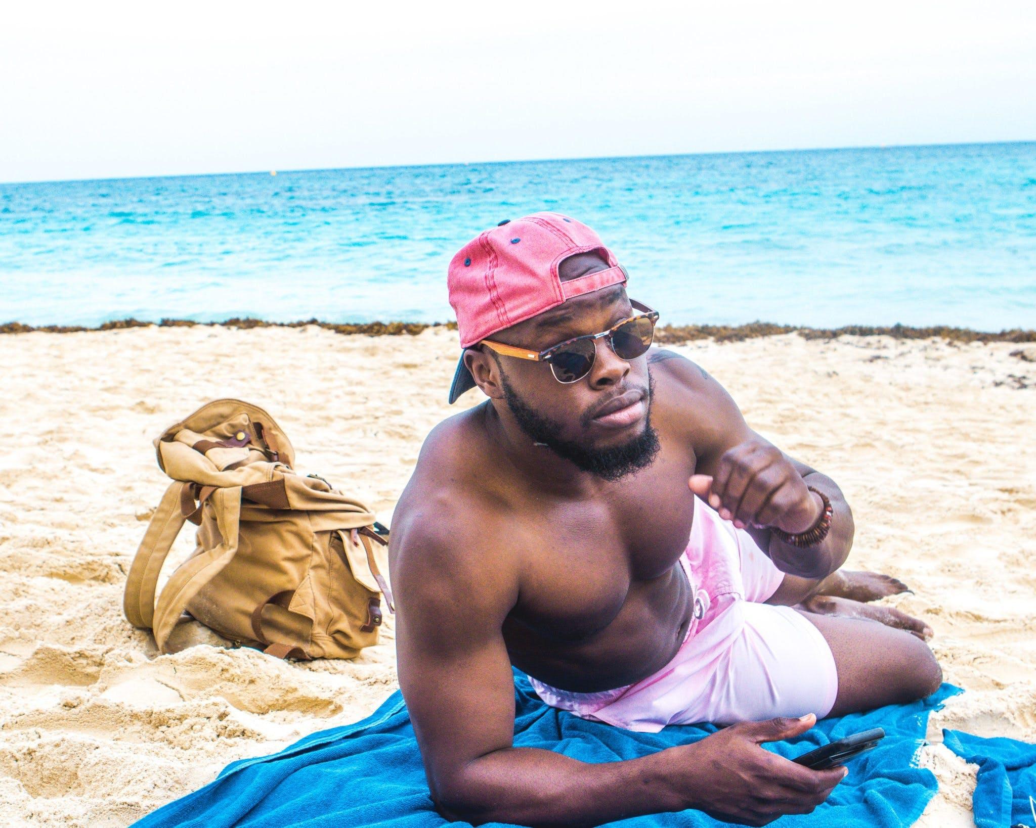 Kostenloses Stock Foto zu badeort, blaue wasser, draußen, entspannung