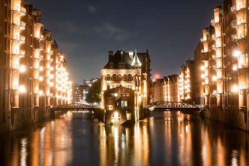 wasserschloß, 亲雾, 光 的 免费素材图片
