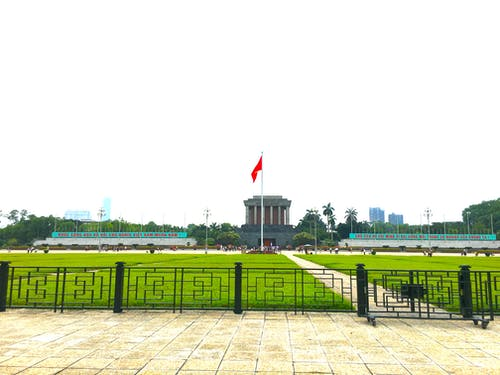 Free stock photo of tomb of president ho chi minh